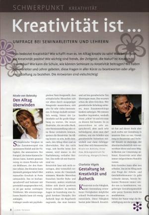 Florieren 2010, Johanne de Carnée